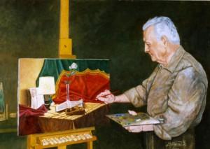 Il-pittore-al-lavoro