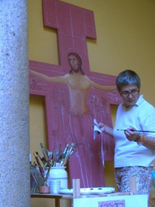 Francesca-dipinge