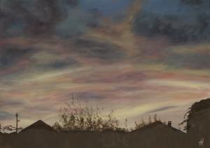 tramonto di fiaba
