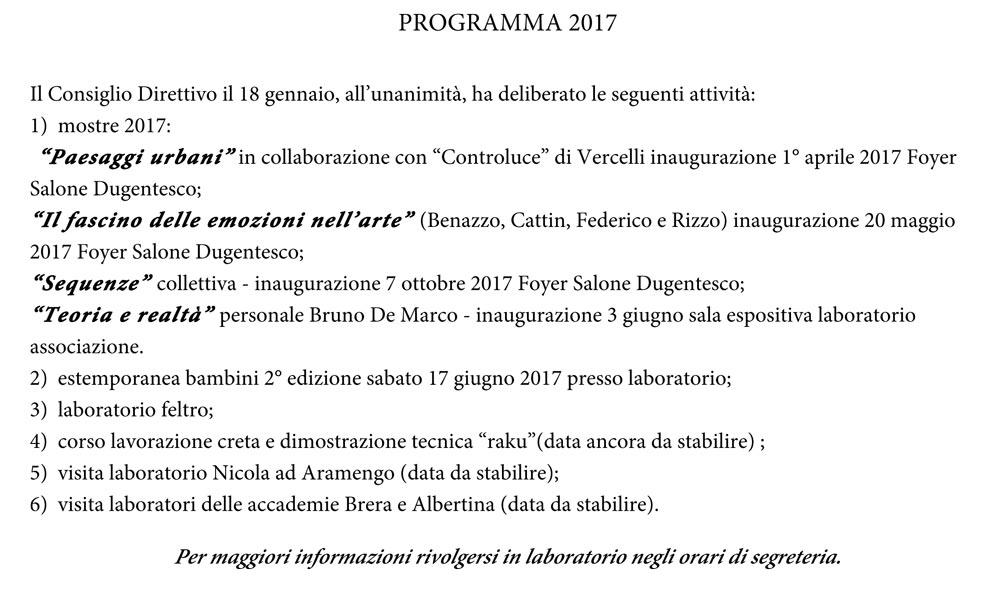 PROGRAMMA-2017